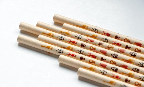 紙ストロー|Paper straw